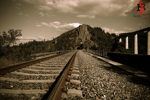 spain españa galicia coruña ponteulla tresr rodolforamallo sonyrx10 landscape paisaje tren train