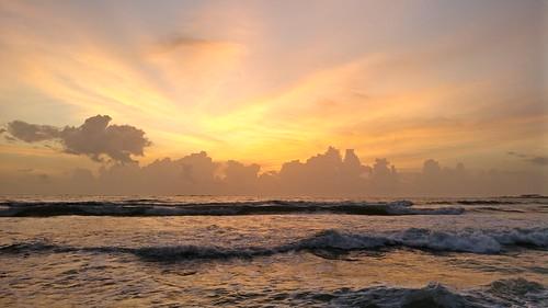 beach cloud cloudy arabian sea