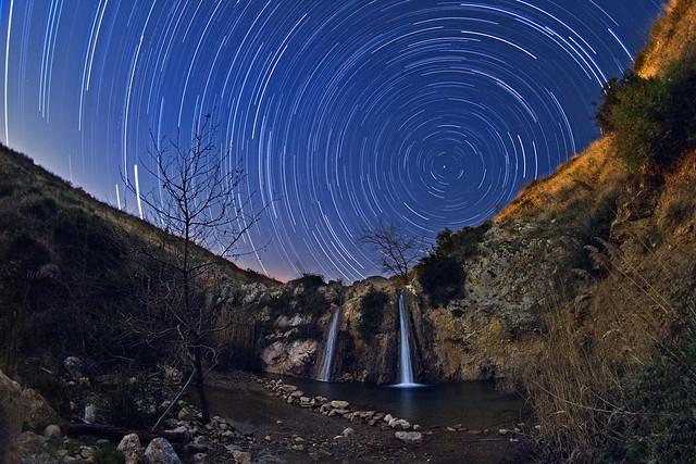 Waterfalls Startrails