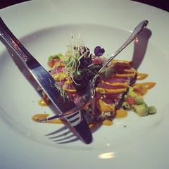 Seared tuna salad...
