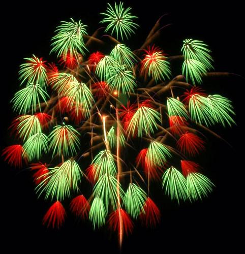 Fireworks Katakai Niigata, Japan