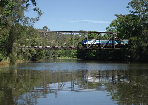 bridge summer railway australia nsw xpt