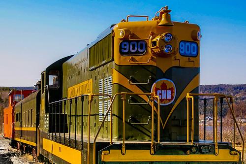 train newfoundland engine locomotive cnr newfiebullet bonavistapeninsula clarenville