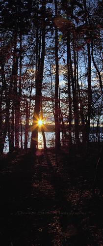 sunset panorama lake nc garner lakebenson