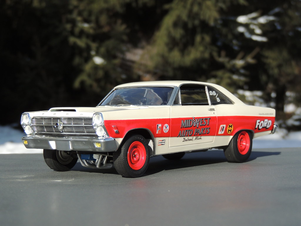 1966 Ford Fairlane 427 Super Stock | My last completed build… | Flickr