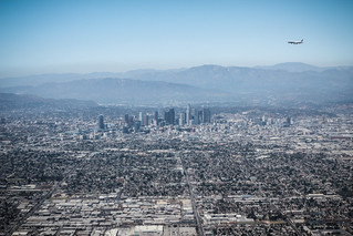 L.A. from the air - Los Angeles, California, USA | by Marie Berne