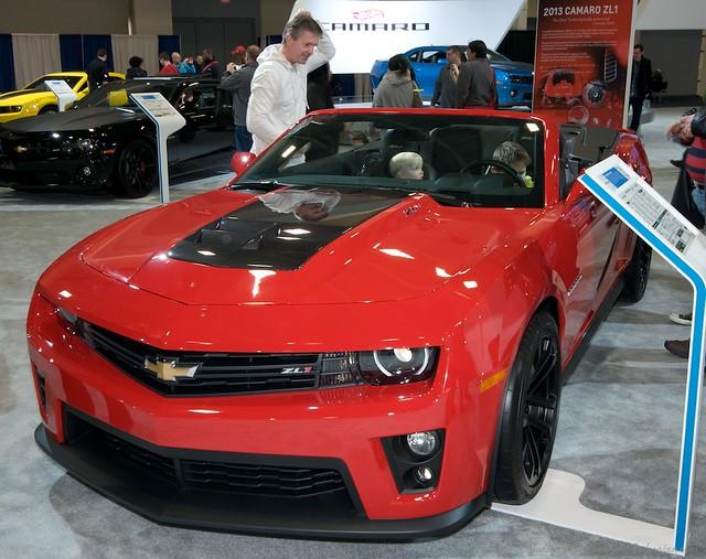 2013 Washington Auto Show - Upper Concourse - Chevy 4