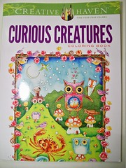 Curious Creatures Coloring Book