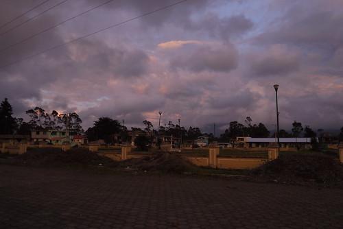 winter sunset los ecuador december el 2012 ilinizas elchaupi theilinizas losilinizas chaupi
