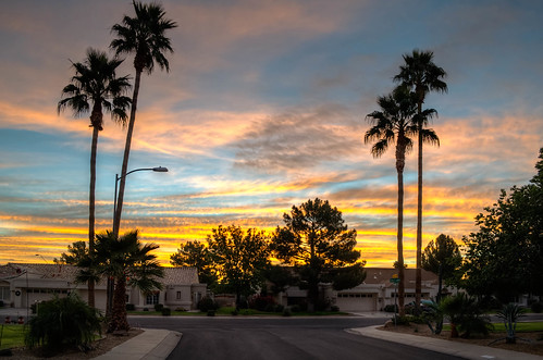 arizona sunrise suncitywest hdrphoto d5100
