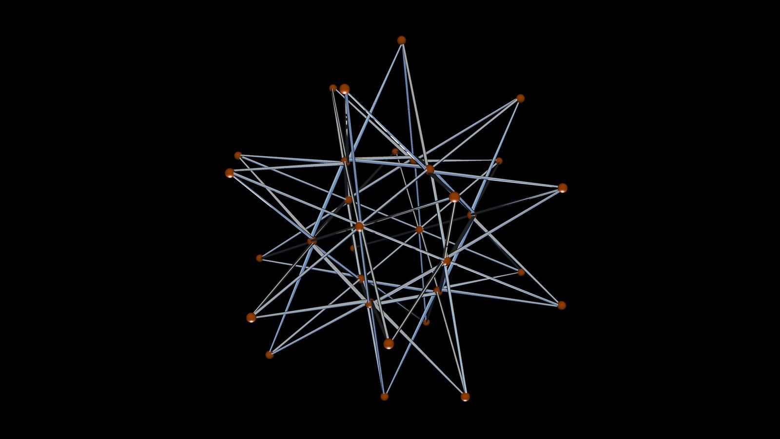 icosahedron spiky correlaciones