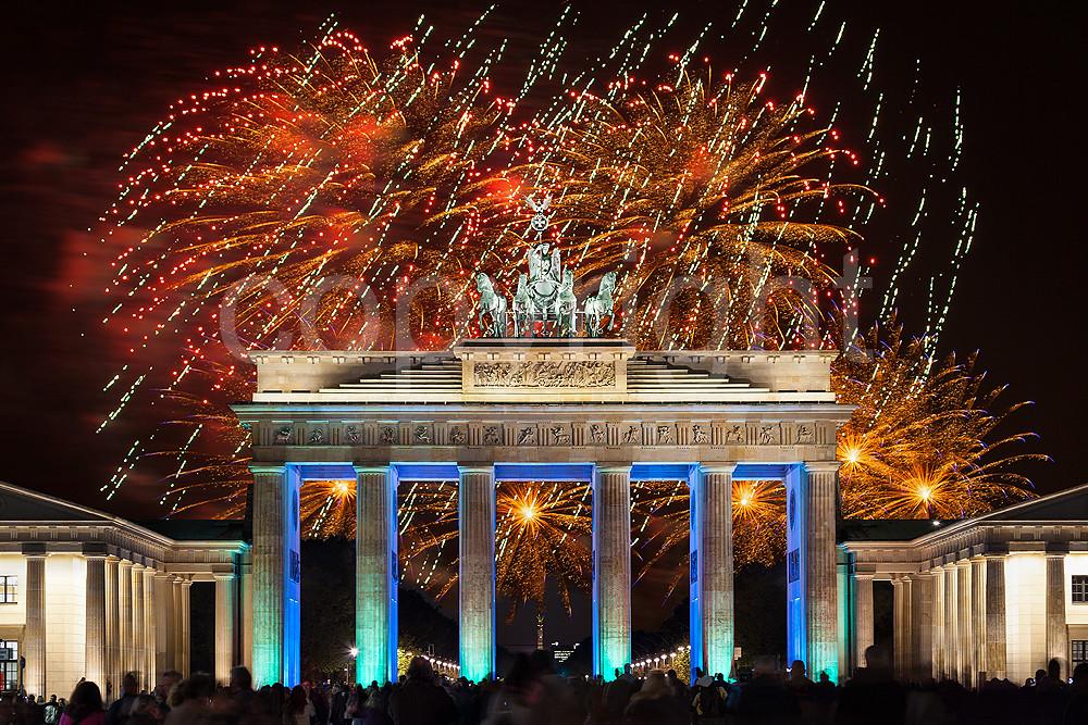 Silvester Berlin Brandenburger Tor 2021