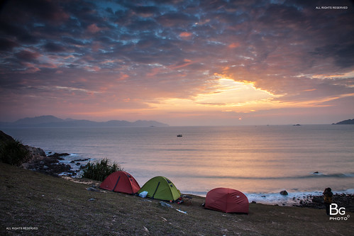 hk hongkong saikung tapmoon 塔門 西貢 香港 2013 sunrise camp camping site first new year grass island tap mun tapmun firstday grassisland ntnewterritories newyear twilight 日出 離島