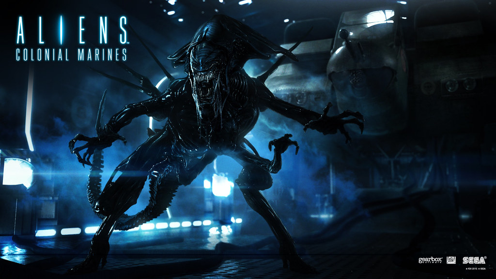 Aliens Colonial Marines Alien Queen Wallpaper 1920x10