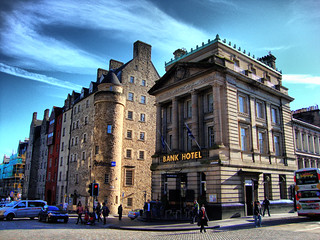 Bank Hotel, The Royal Mile, Edinburgh | by photphobia