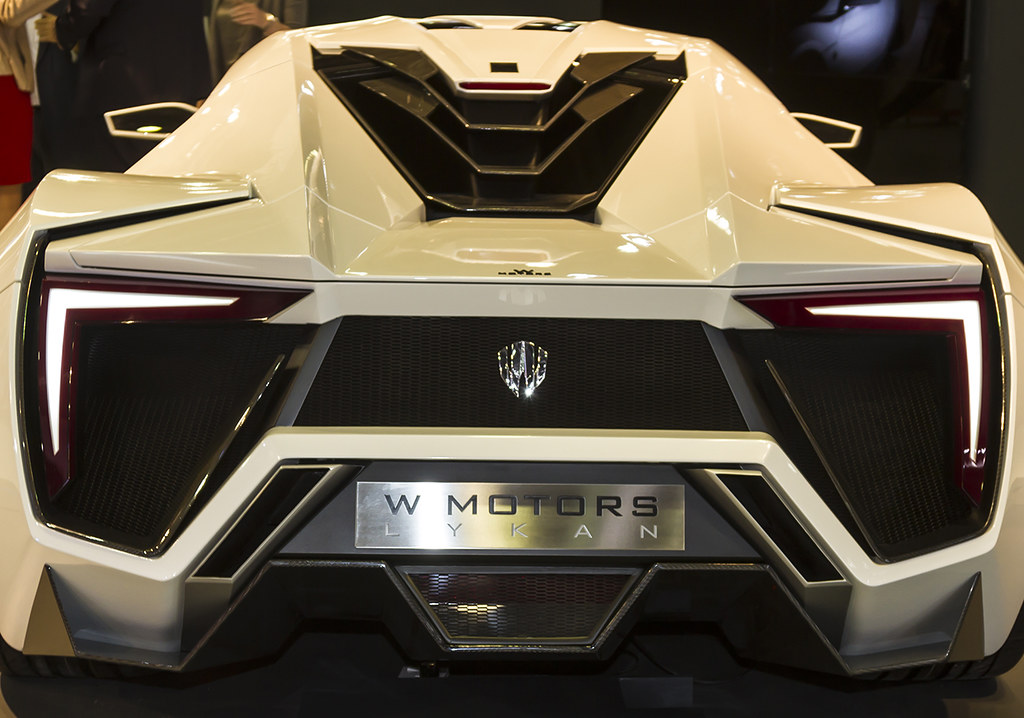 W Motors Lykan Hypersport 2013 rear | W Motors Lykan Hypersp… | Flickr
