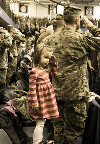 A daughter's salute | by The U.S. Army