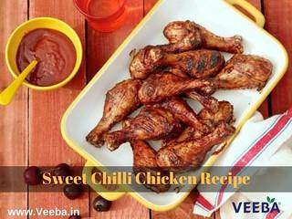 Chilli Chicken Recipe - How to make Sweet Chilli Chicken Recipe