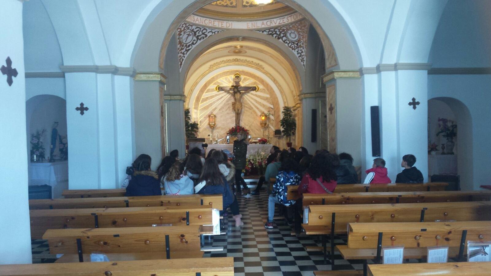 (2018-03-19) - Visita ermita alumnos Yolada-Pilar,6º, Virrey Poveda-9 de Octubre - Maria Isabel Berenquer Brotons - (15)