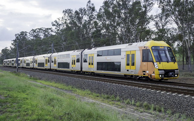 Sydney Trains - 'A Set' Waratah D6330 - T1 Western Line at Werrington on the DOWN