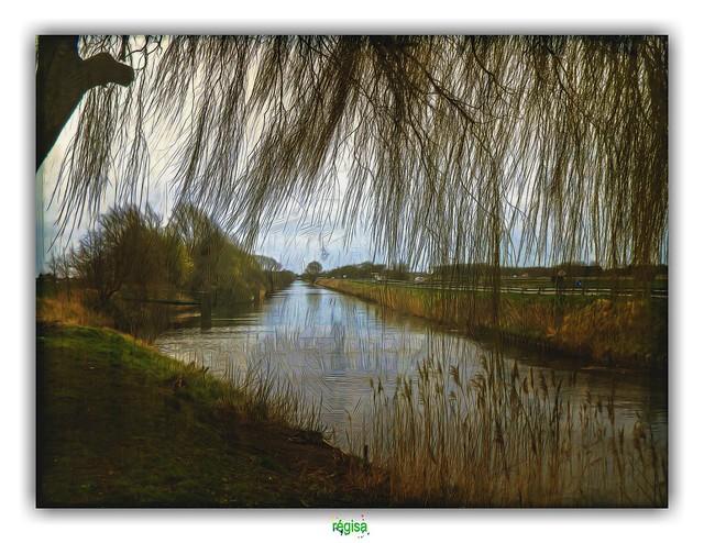 LE CANAL DE FURNES à ZUYDCOOTE & GHYVELDE