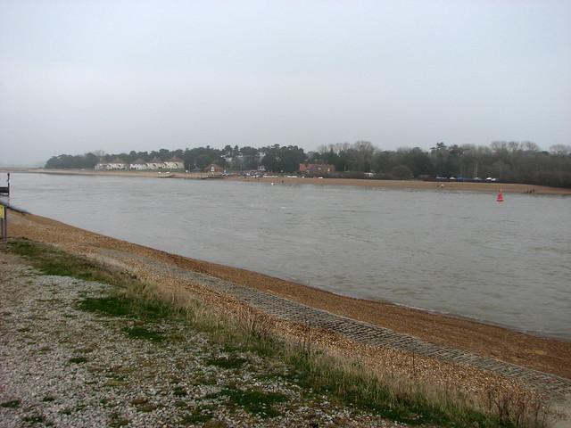 Bawdsey from Felixstowe Ferry