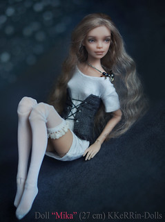 "Doll ""Mika"" (27 см, resin, normal, tan) My shop https://www.etsy.com/shop/KKeRRinDolls Магазин https://www.livemaster.ru/myshop/kerrin 