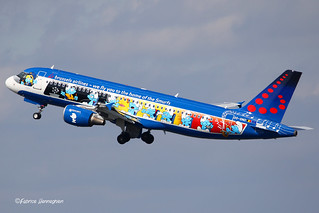 OO-SND Brussels Airlines Airbus A320-214 | by Planes , ships and trains!