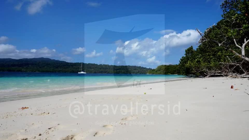 Timelapse of Peucang Island Beach, Ujung Kulon