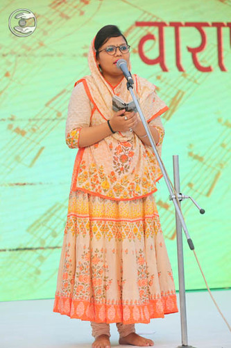 Devotional song by Shivani from Saharanpur
