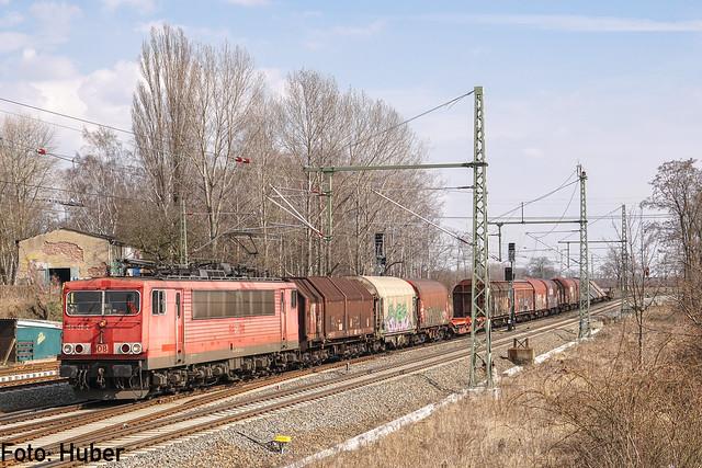 155 128 DB Cargo | Leipzig-Thekla | März 2018