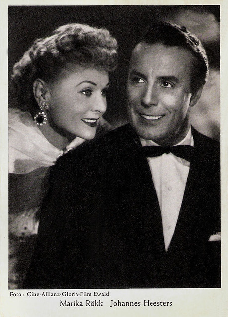 Marika Rökk and Johannes Heesters in Die geschiedene Frau (1953)