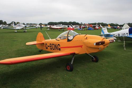 G-BDNG Taylor JT1 [PFA 1405] Sywell 030911