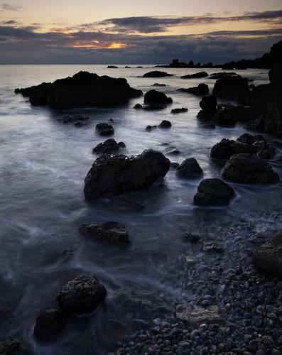 seascape swansea wales sunrise nikon gower d800 pwlldu