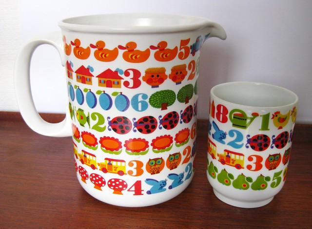 1972 Graziela Preiser's '1,2,3'patern design