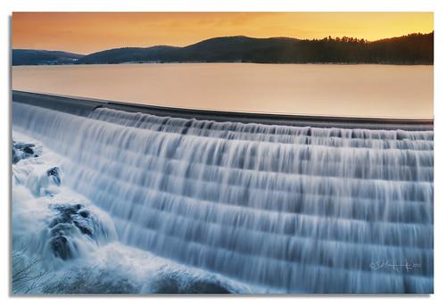 nyc sunset ny del sunrise waterfall dam olympus waterfalls dell croton hudson e3 westchester watertexture delhiggins