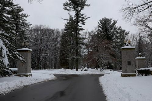 park winter snow landscape buhl