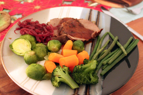 Red Wine Beef Pot Roast with Red Onion Marmalade | by Coffee Muffins