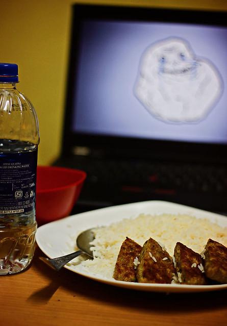Forever Alone Dinner...