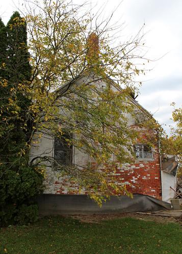 county windows ohio chimney house brick abandoned arch farm union 11 historic marysville kandel segmental