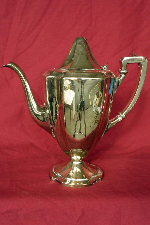 DSC01505 Wrought Right Silverplate Tea Pot