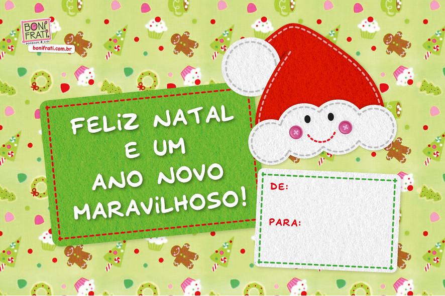 Cartao De Natal Para Imprimir Um Mimo Criado Especialmen Flickr