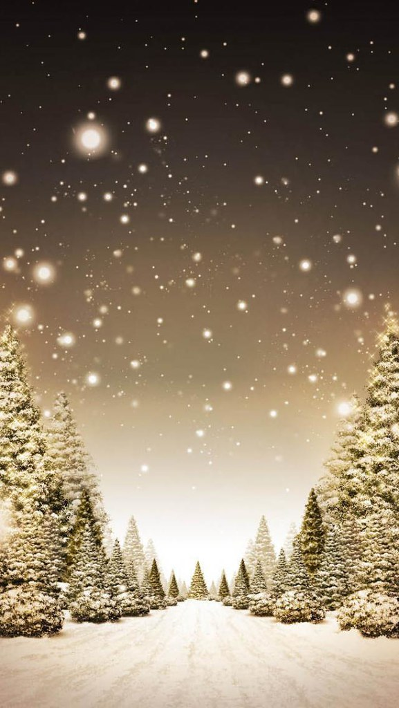Christmas Forest 1136x640 Iphone 5 Christmas Wallpapers