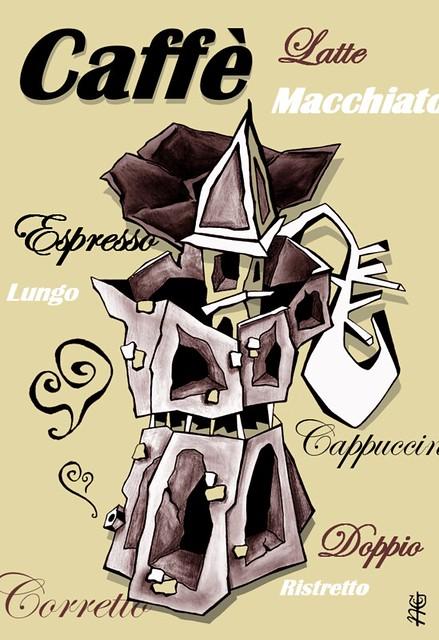 Moka Coffee Art - Espresso Italia