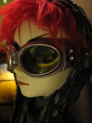new baby with his rad goggles