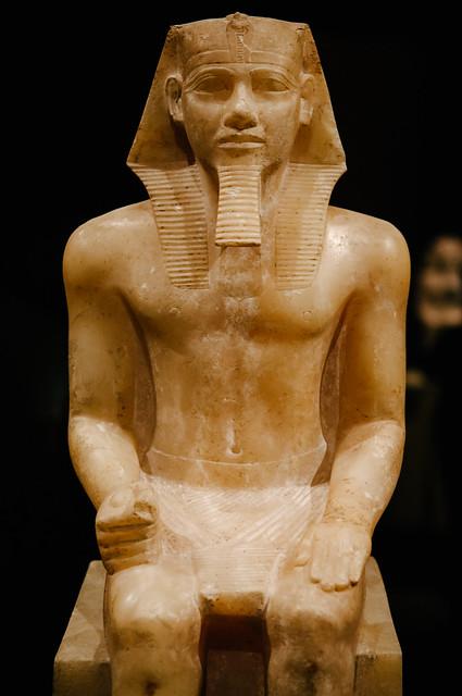 statue of king khafre