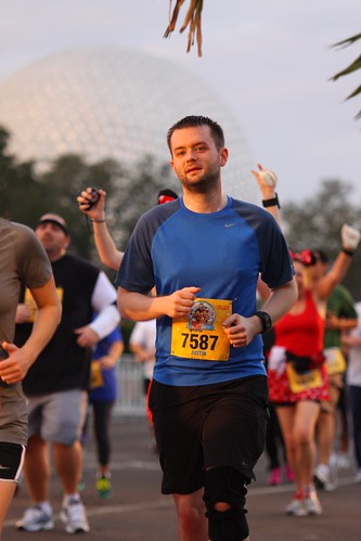 Running away from EPCOT at the 5k | by fligtar