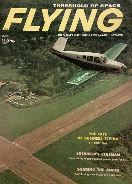Flying Magazine June 1958