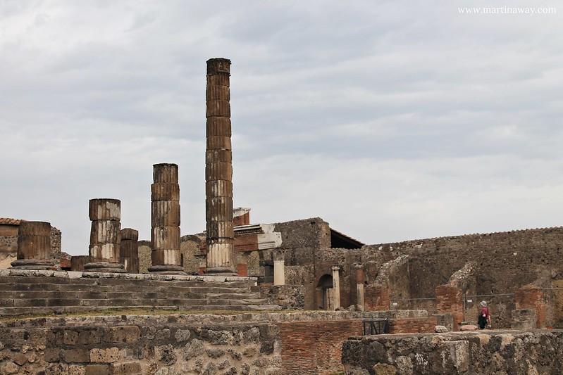 Scavi di Pompei, Foro