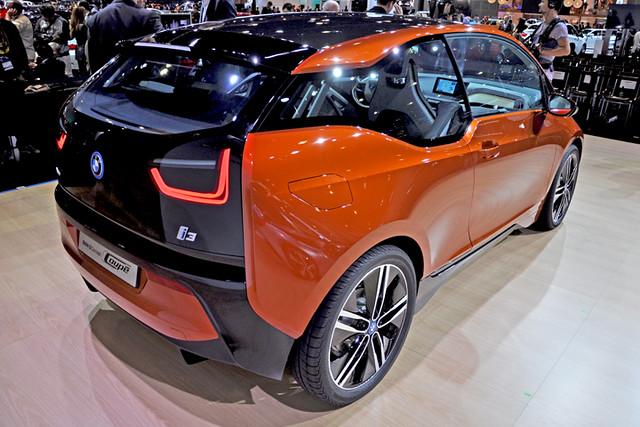 BMW i3 concept rear